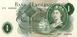 Picture of L K O'Brien £1 Portrait B281 A Prefix GEF/Unc