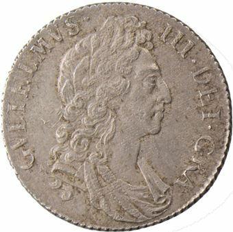 William_III_Shilling_Brilliant_Uncirculated_obv