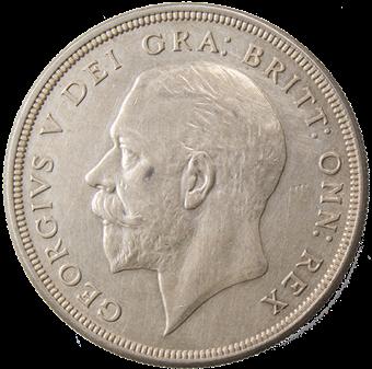 George V_1928_Crown_Obv
