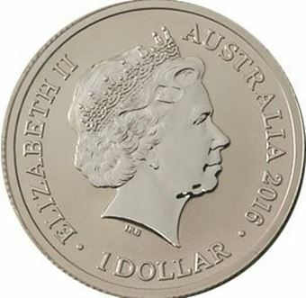 Picture of Australia, $1 F Brilliant Uncirculated
