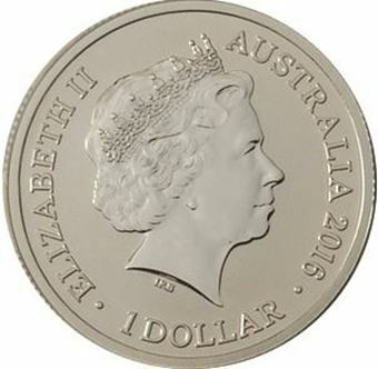 Picture of Australia, $1 M Brilliant Uncirculated