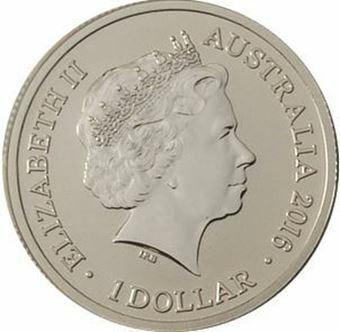 Picture of Australia, $1 M Brilliant Uncirculated