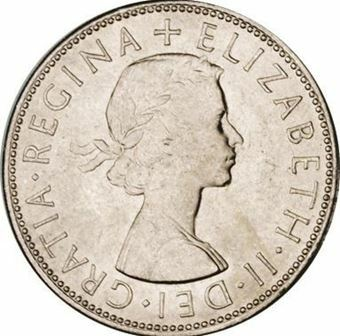 Picture of Elizabeth II, Halfcrown 1964 BU
