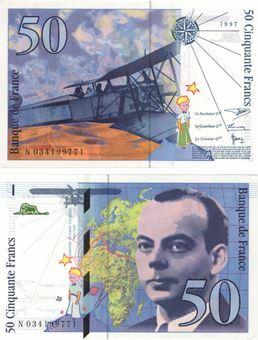 Picture of France 50 Francs 1997-9 P157A Unc