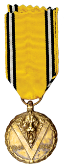 Picture of Belgium, Victory Medal World War II