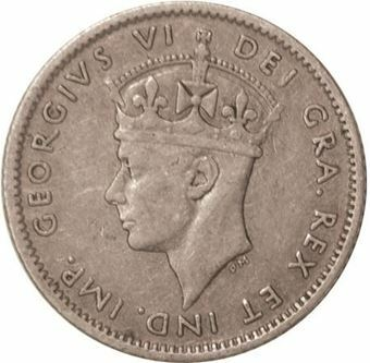 Picture of Canada, Newfoundland, George VI 10 Cents