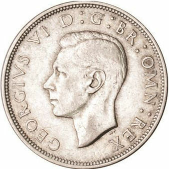 Picture of George VI, Halfcrown 1944 Extremely Fine
