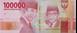 Picture of Indonesia 100,000 Rupiah 2016 P160c Unc