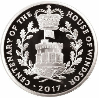 Picture of Elizabeth II, £5 (House of Windsor) 2017 Silver Proof