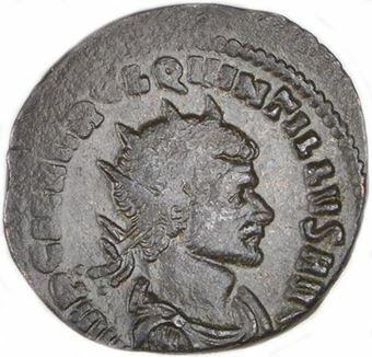 Picture of Quintillus Bronze Antoninianus Very Fine