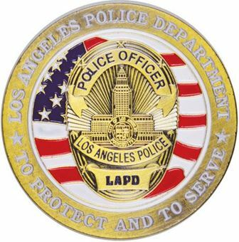Picture of United States of America, Los Angeles Police Department Challenge Coin