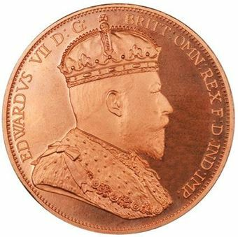 Picture of Ireland, Edward VII Copper Crowned