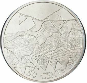 Picture of Cook Islands 50c Crown Cover
