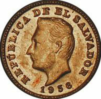 Picture of Salvador, E L, 1 Centavo 1956