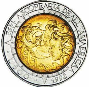Picture of San Marino, 500 Lire 1992