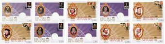 Picture of History of the Monarchy First Day Covers