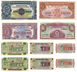 Picture of Set of 10 Different Uncirculated British Military Notes