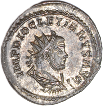 Picture of Choice Antoninianus of Diocletian