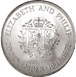 Picture of Queen's 25th Wedding Crown & FDC