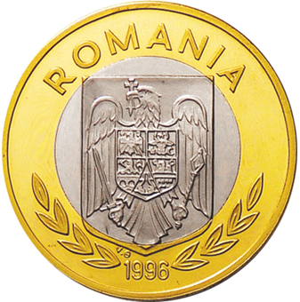 Picture of Romania, Pattern Equestrian Olympics Copper Piedfort