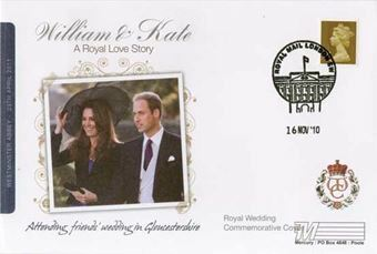 Picture of 10 William & Kate FDC