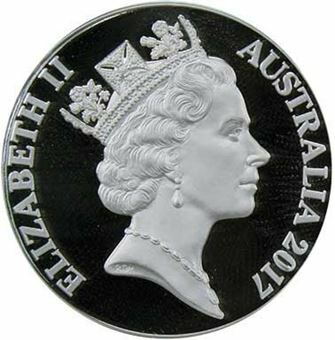 Picture of Australia, 2017 1 ounce 1 Cent Proof