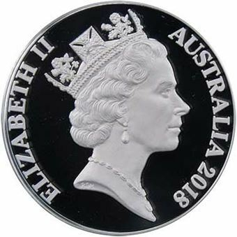 Picture of Australia, 2018 1 ounce 2 Cent Proof