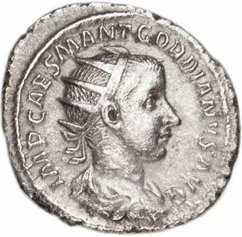 Picture of Gordian III Billon Silver Antoninianus  AEF
