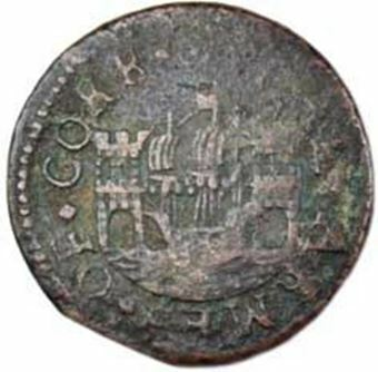 Picture of Ireland, Cork,  17th Cent Penny Token VG-Fine