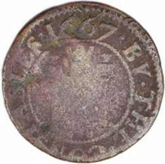 Picture of Token 17th Cent Taunton VG-F