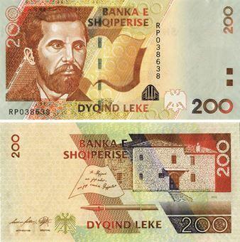 Albania 200 Leke 2007