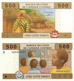 Cameroon 500 francs P206U