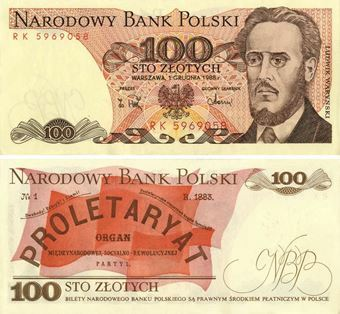 Picture of Poland 100 Zlotych P143 Unc