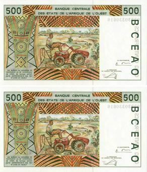 Picture of Togo (as West Afric States) 500 Francs P810T Unc