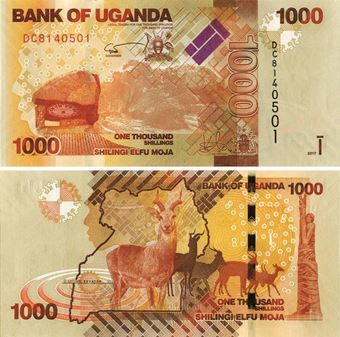Picture of Uganda 1000 Shillings P49 Unc