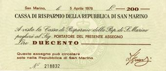 Picture of San Marino 150 Lire 1976 PS101  Unc
