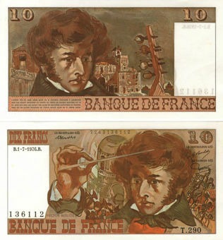 Picture of France 10 francs 1975-8 P150 Unc