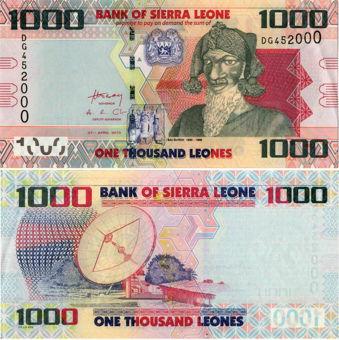 Picture of Sierra Leone 1000 Leones 2010 P30 Unc