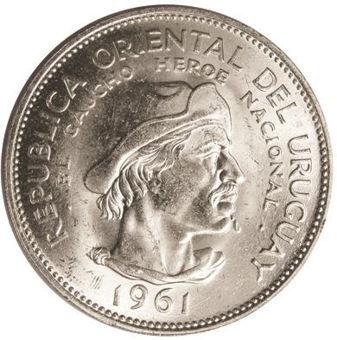 Uruguay, 1000 Peso 1969 FAO Silve