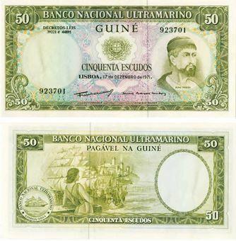 Portuguese Guinea 50 Escudos 1971 P44 Unc