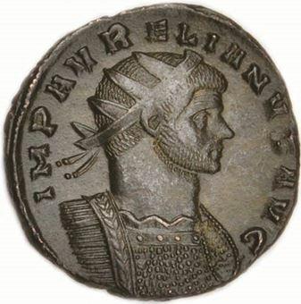 Aurelian Billon Antoninianus _obv