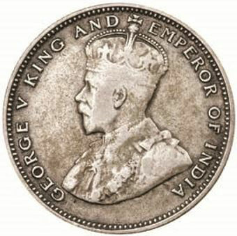Picture of Straits Settlements, 20 Cents Silver 1927