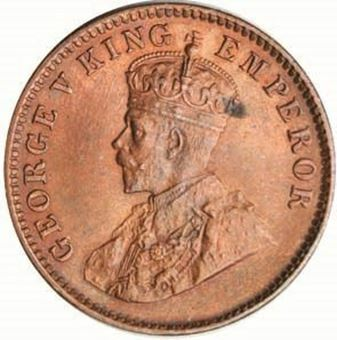 Picture of India George V 1/4 Anna 1936 BU