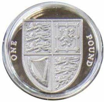 Picture of Elizabeth II, £1 Silver Proof, 2009