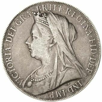 1990 Victoria Old Head Crown_obv