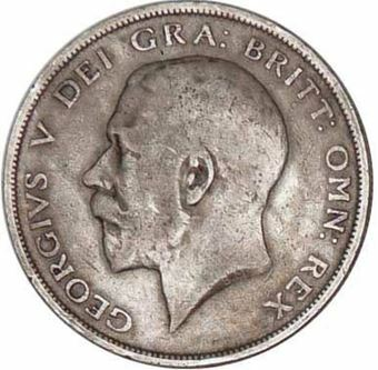 George V_Sterling_Silver_Halfcrown_obv