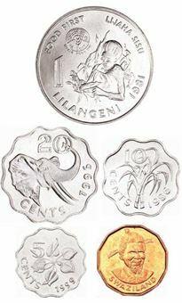 Swaziland_5_Coin_Mint_Set