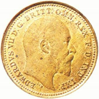 Picture of Edward VII, Third Farthing Uncirculated