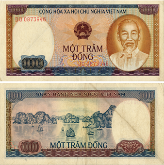 Picture of Vietnam 100 Dong 1980 P88a Fine