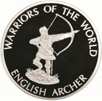 Picture of Congo, 10 Francs, Warriors of The World English Archer